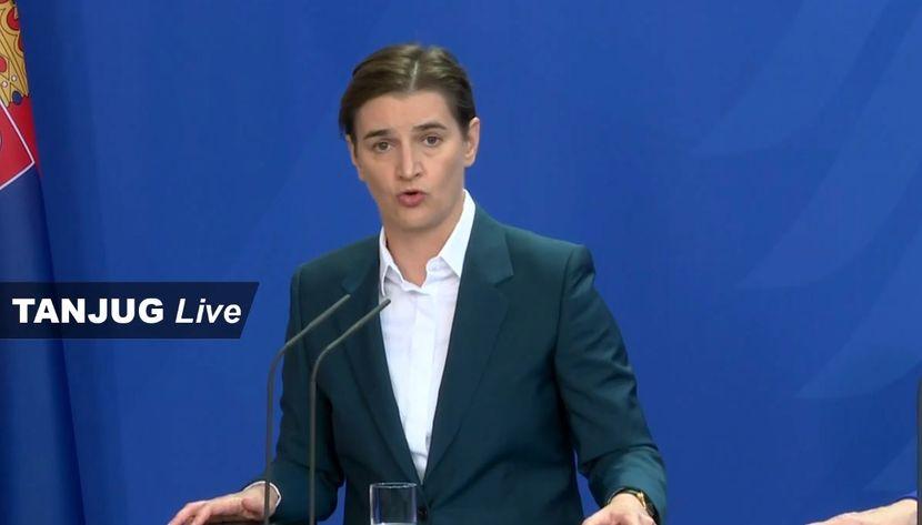 Ana Brnabić, premijerka Srbije, Nemačka