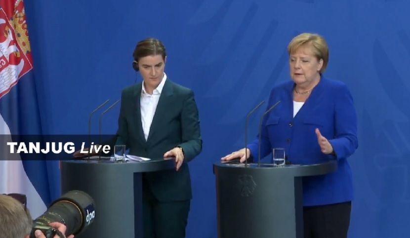 Ana Brnabić, premijerka Srbije, Nemačka, Angela Merkel