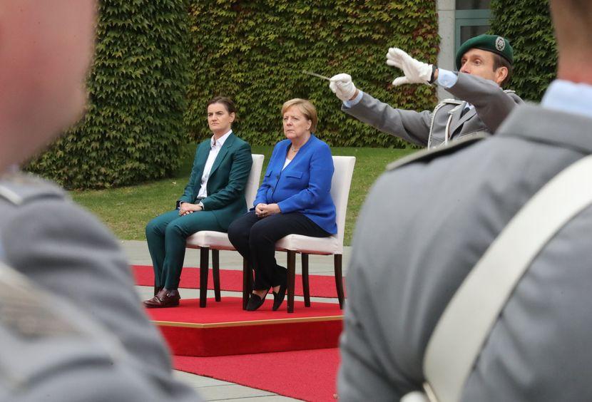 Ana Brnabić, Angela Merkel