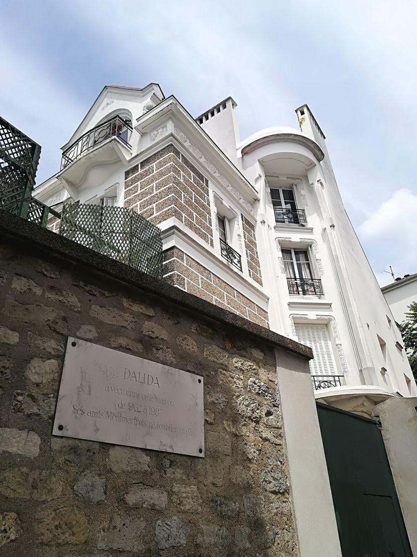 Dalidina kuća na Monmartru