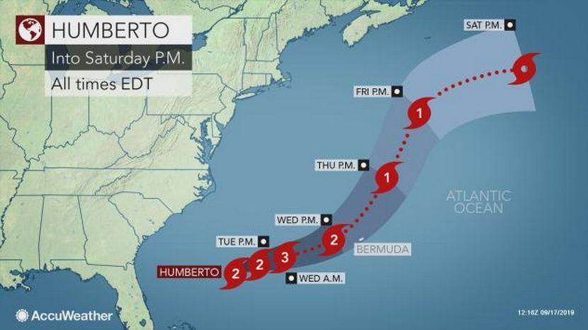 Uragan Umberto,