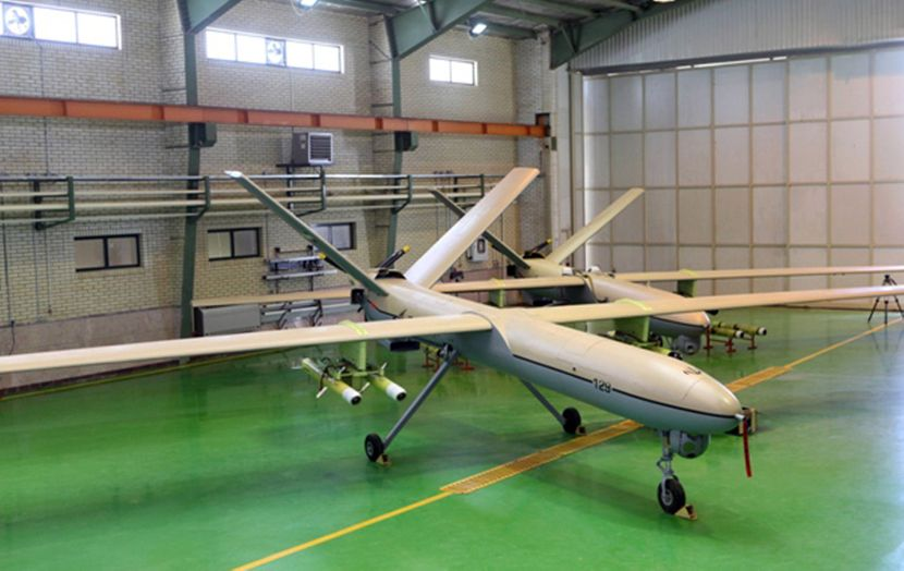 Shahed 129, Dron