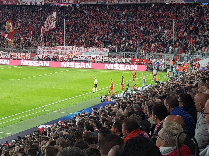 Navijači Bajerna ljuti na UEFA