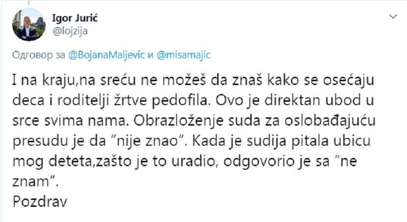 Post, Igor Jurić