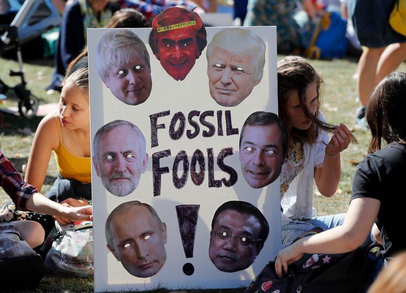 Klimatski protest, London Velika Britanija