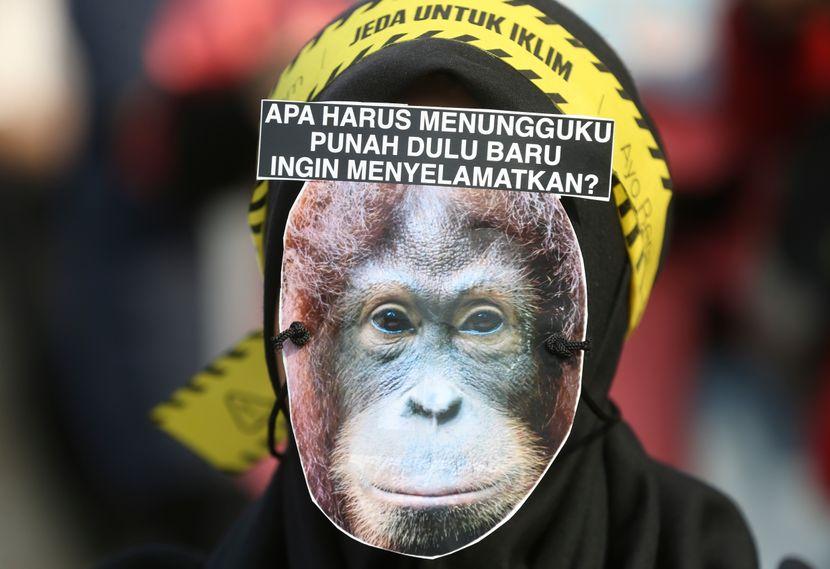 Klimatski protest, Džakarta Indonezija