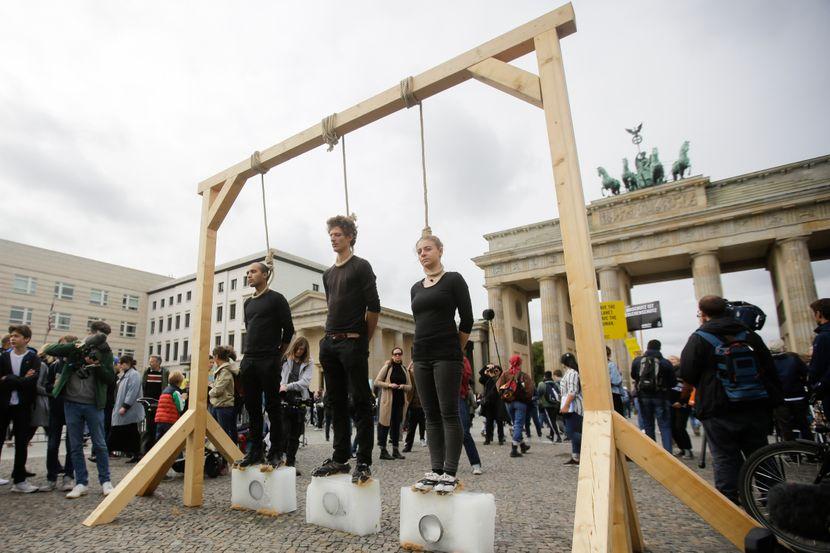 Klimatski protest, Berlin Nemačka