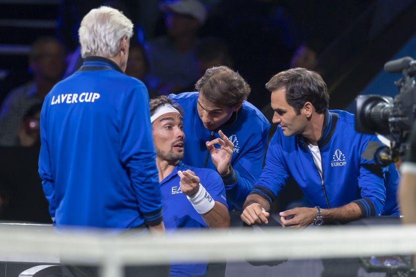 Nadal, Federer i Fonjini