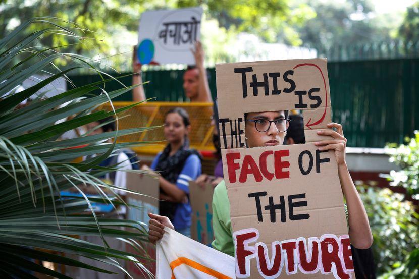 Klimatski protest, Nju Delhi Indija