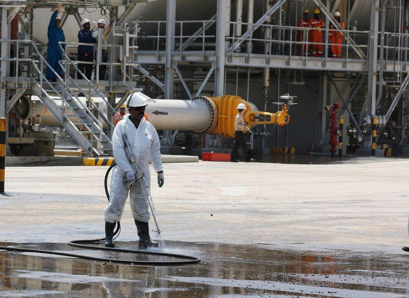 Naftna postrojenja, Saudijska Arabija