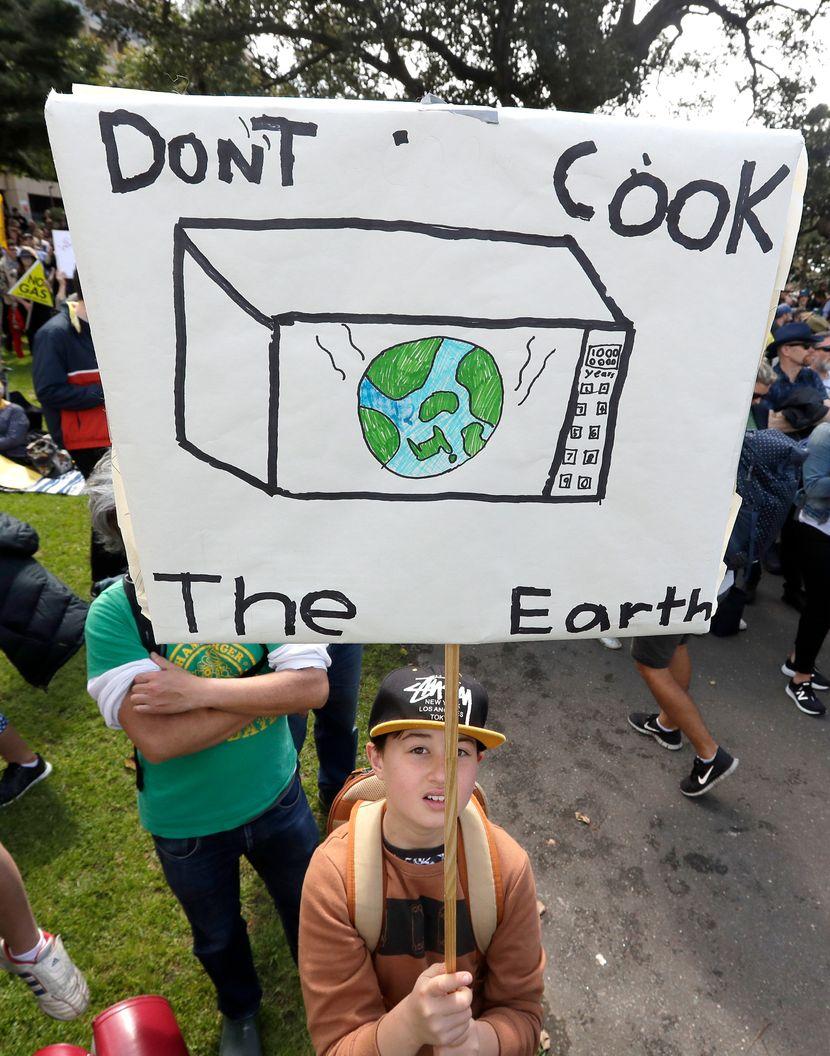 Klimatski protest u Sidneju