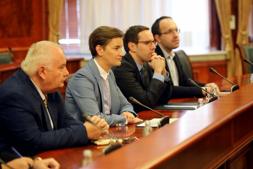 Ana brnabić, premijerka Srbije, Vlada Srbije, NR Kina