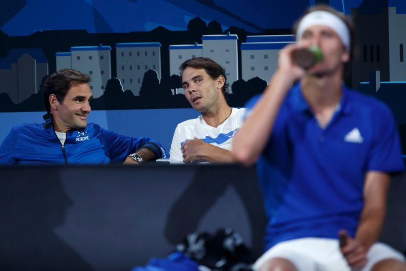 Rodžer Federer i Rafel Nadal