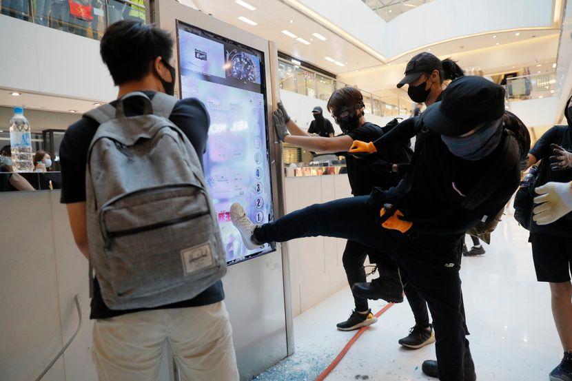 Protesti, demonstracije u Hongkongu