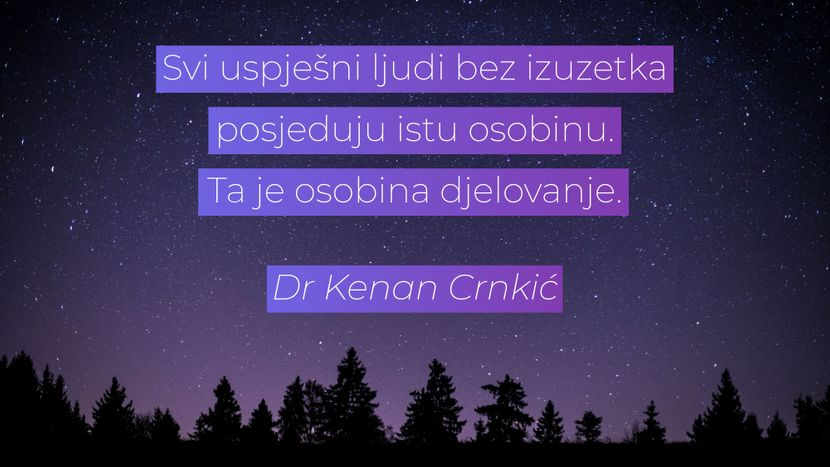 Kenan Crnkić citati