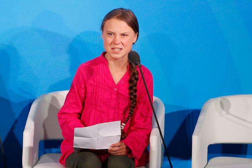 Greta Thunberg, Klimatske promene