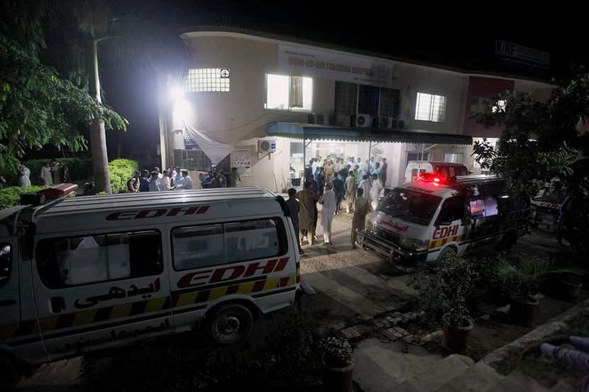 Pakistan, zemljotres