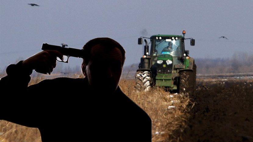 Poljoprivrednik, traktor, njiva, samoubica, samoubistvo
