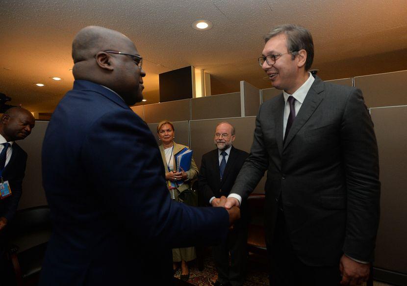 Aleksandar Vučić i predsednik Konga