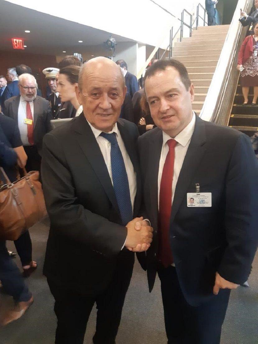 Ivica Dačić, Ministarstvo spoljnih poslova, Francuska