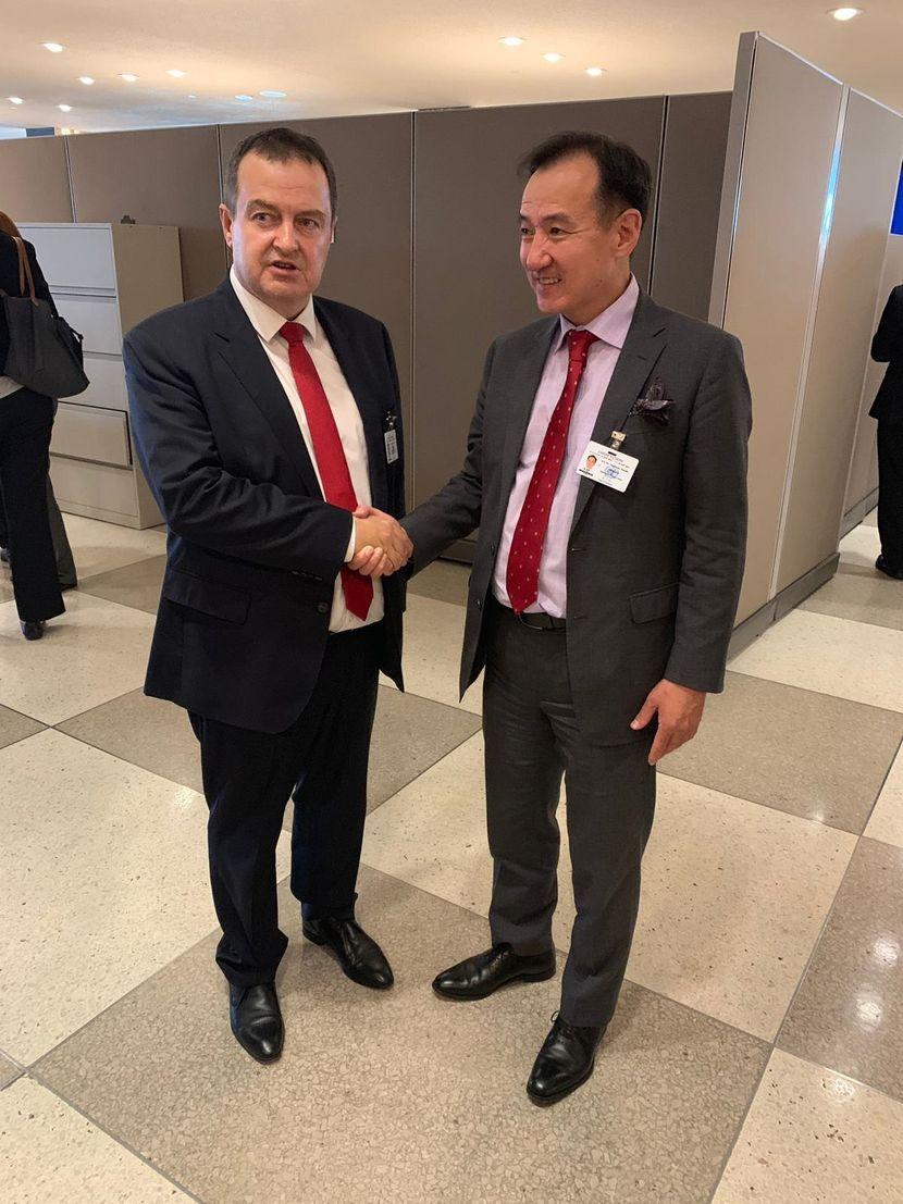 Ivica Dačić, Ministarstvo spoljnih poslova, Mongolija