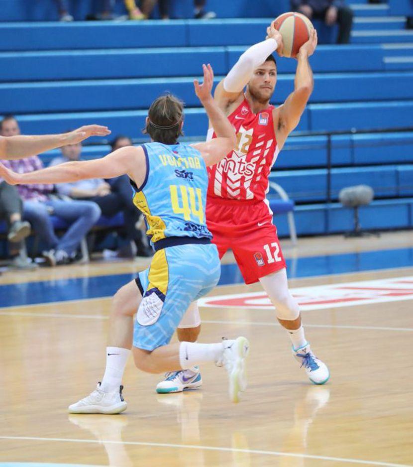 KK Crvena zvezda, KK Primorska, superkup aba lige četvrtfinale