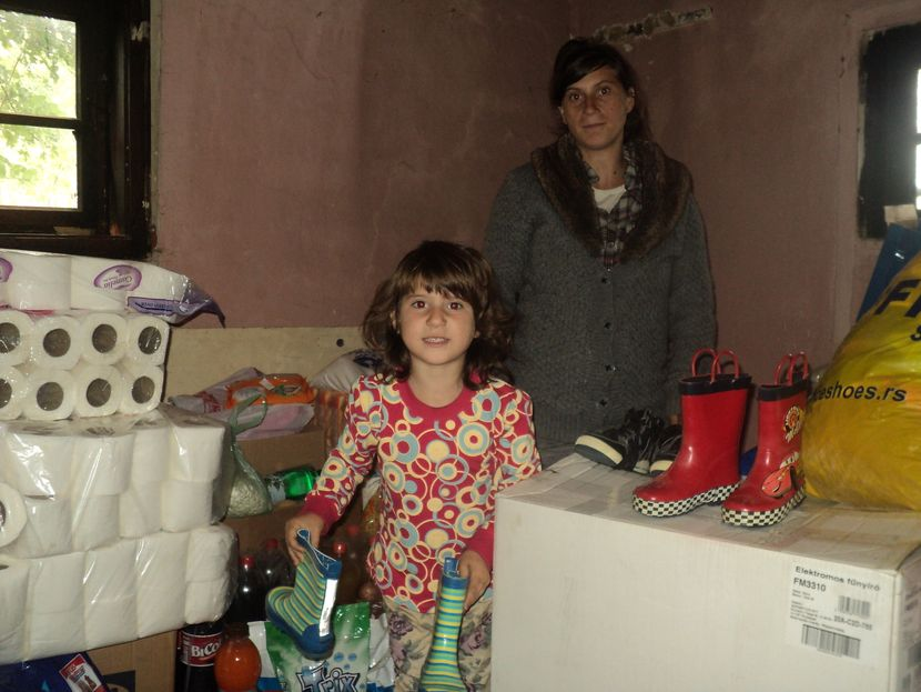 Tijana Ramani, Surdulica, pomoć