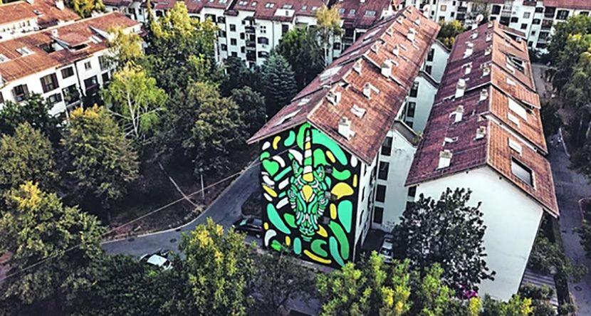 Mural na Dorćolu, Andrej Josifovski