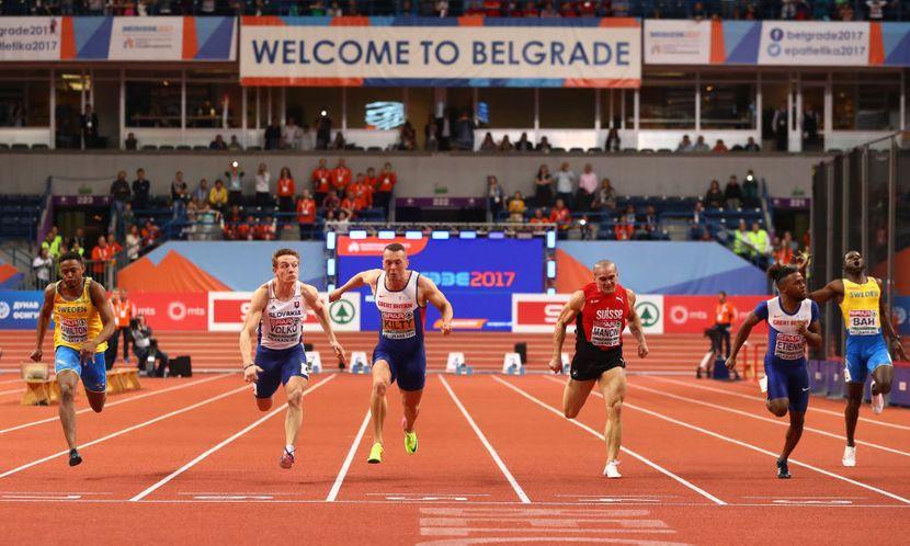 Ričard Kilti prvak Evrope u Beogradu na 60m