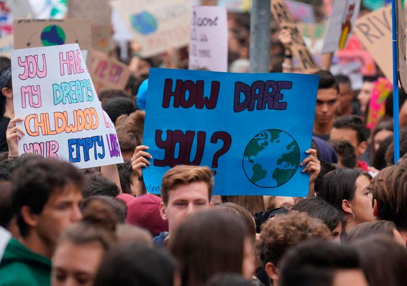 Klimatski protest Italija