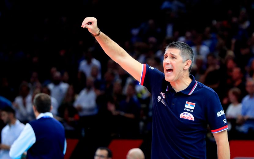 France Volleyball France Serbia