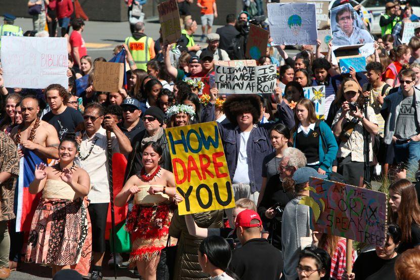 Novi Zeland, klimatski protest