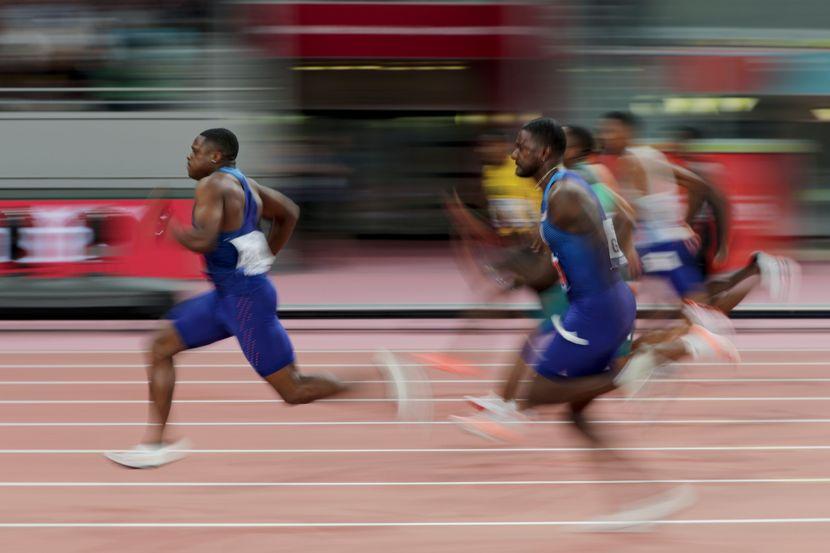 Doha 2019, finale 100 metara