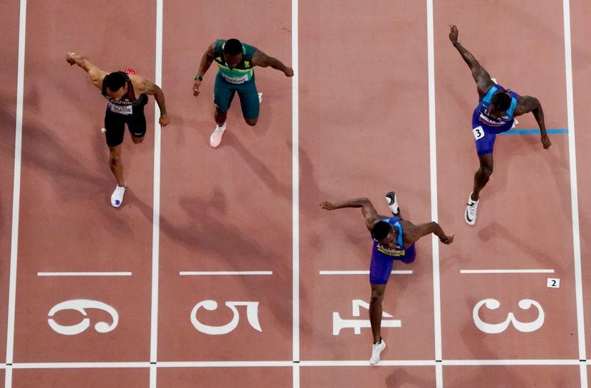 finale 100m, Doha 2019
