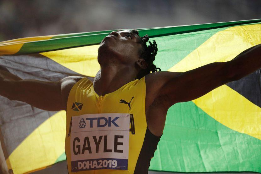 Tadžaj Gajl, prvak sveta u skoku udalj, Doha 2019