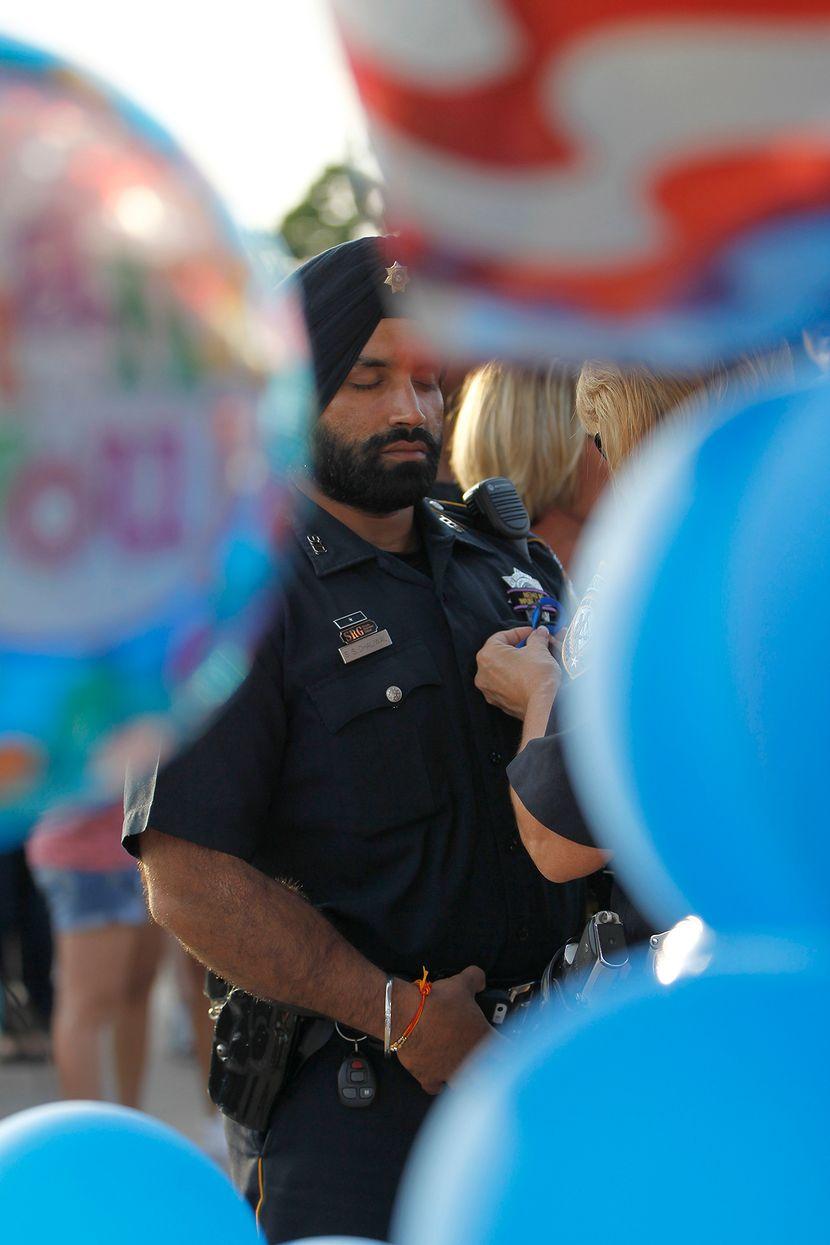 Pucnjava, policajac, Sandeep Dhaliwal