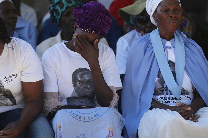 Robert Mugabe, sahrana