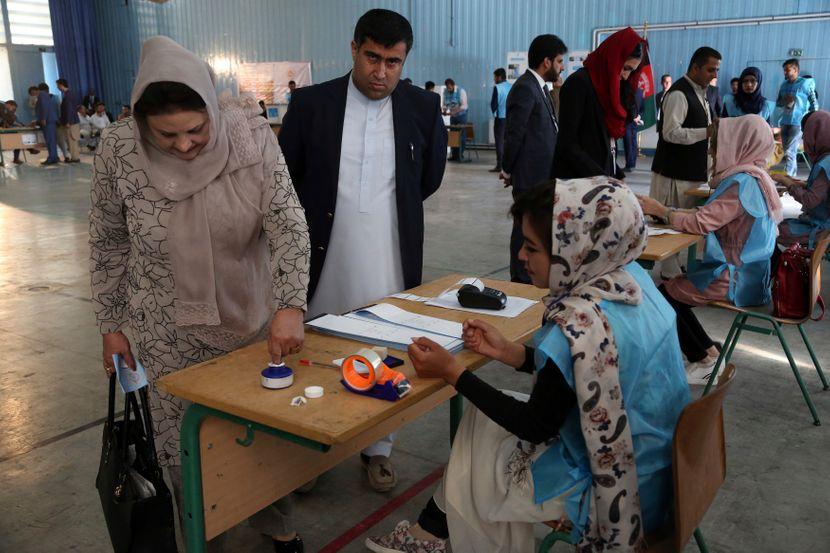 Avganistan izbori glasanje