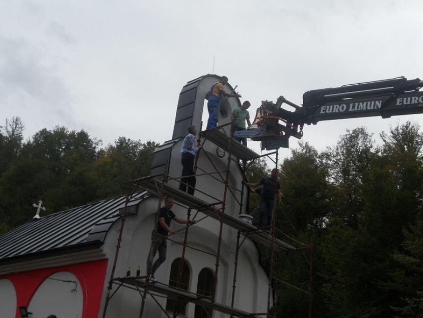 Gornji Rakovac, podizanje crkve, Crkva Rođenja Presvete Bogorodice