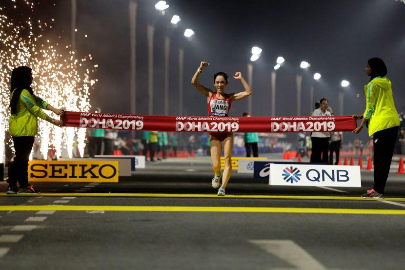 Brzo hodanje, Doha 2019