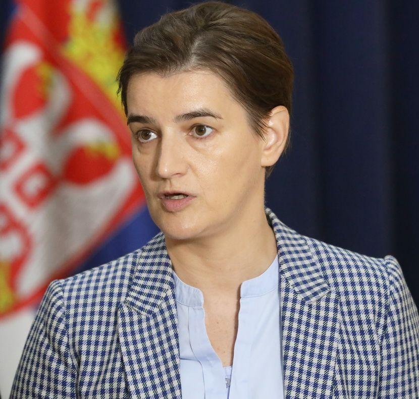Nebojša Stefanović, Ana Brnabić, Satanak radne grupa za saradnju sa OEBS -om