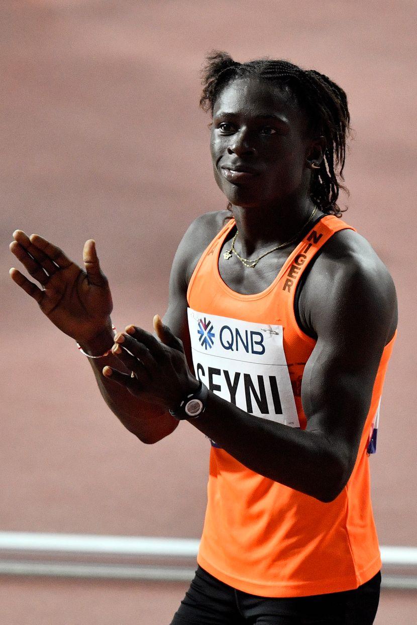 Aminatu Sejni, indijska sprinterka, Doha 2019