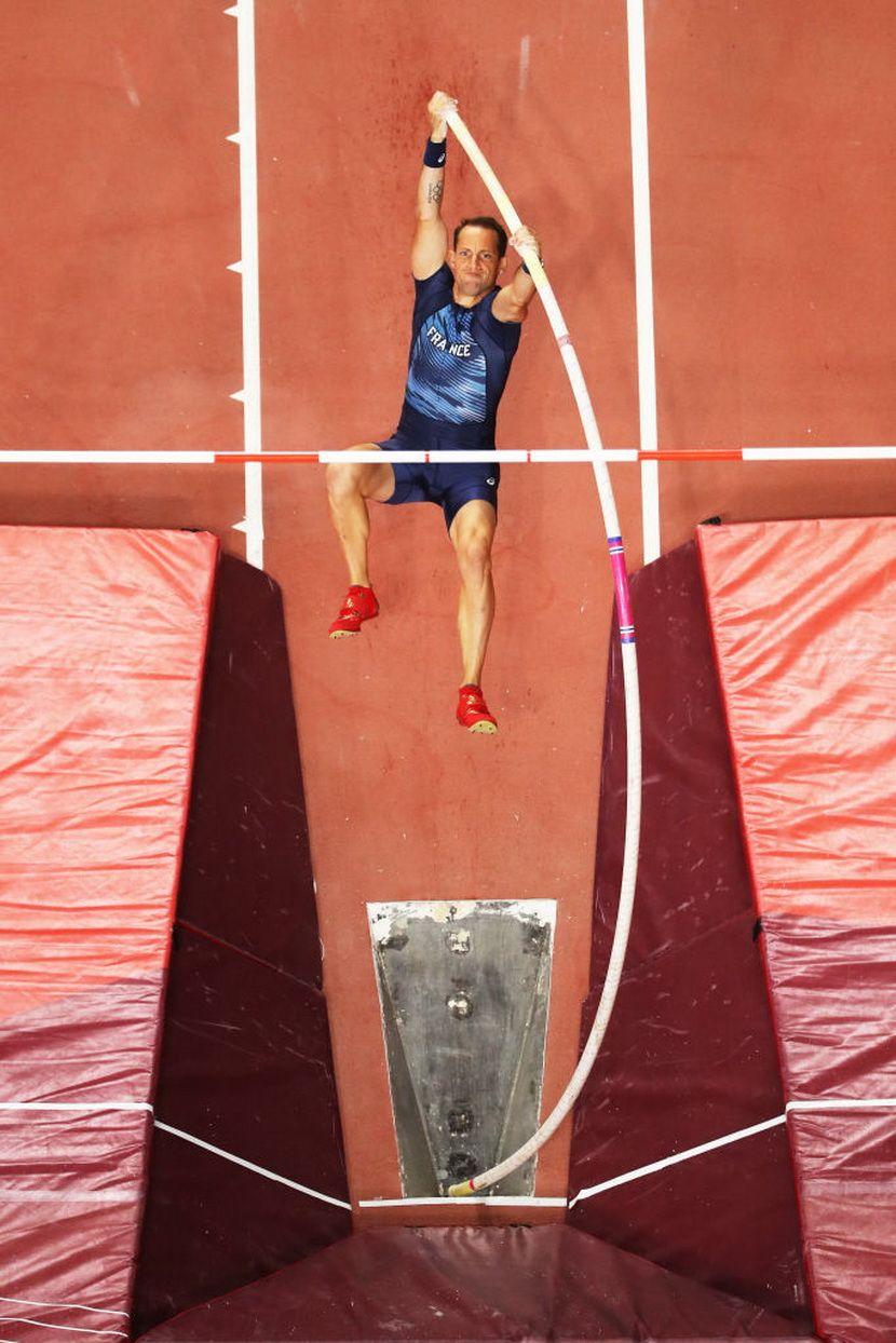 Renaud Lavileni, skok sa motkom, Doha 2019