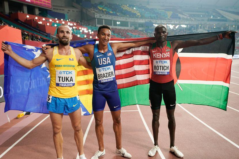 Amel Tuka, 800 metara finale, Doha 2019