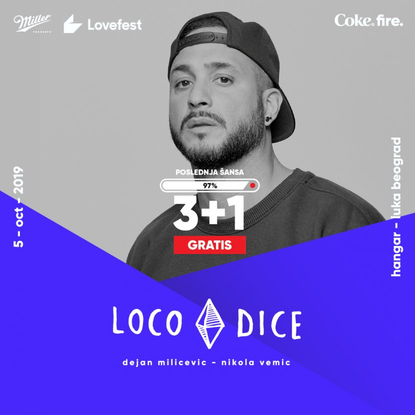 Loco Dice, Lovefest fire