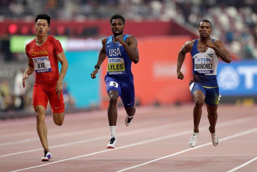 Noa Lajels, američki sprinter, Doha 2019
