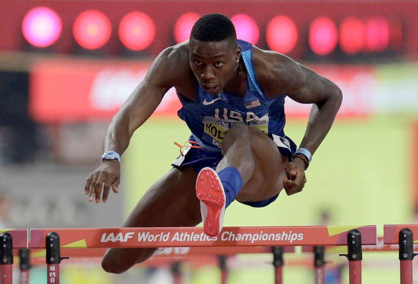 Grant Holovej, 110 metara prepone finale, Doha 2019