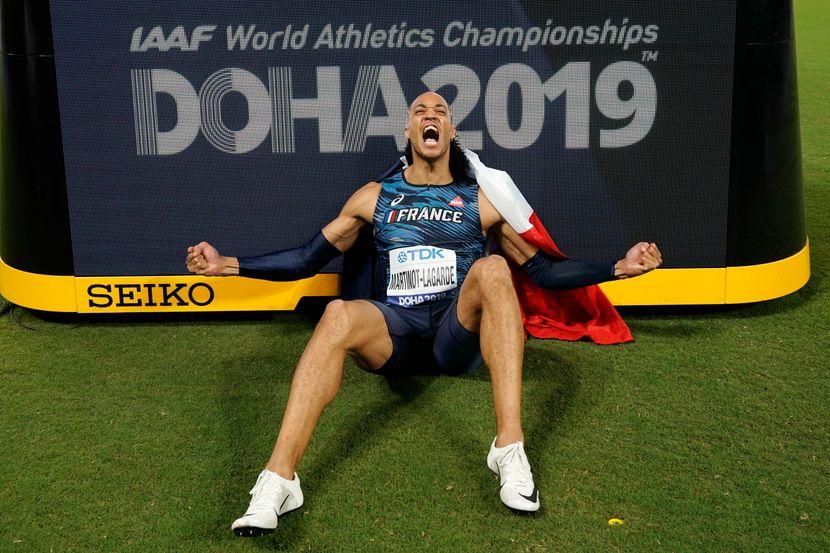 Paskal Martino-katad, 110 metara prepone finale, Doha 2019