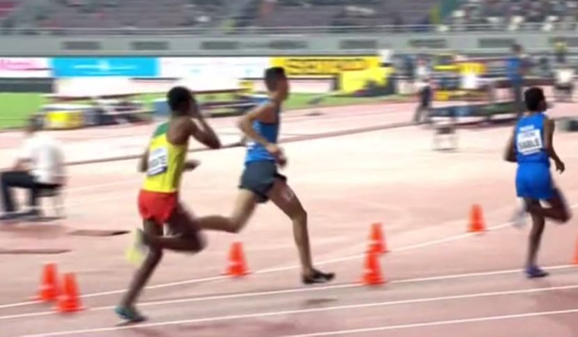 Takele Nigate, udarci glavom, 3000 metara stipl, Doha 2019
