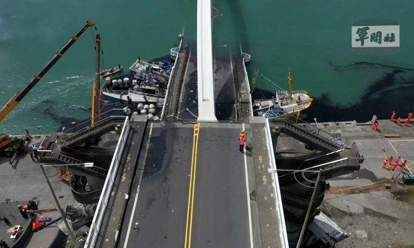Tajvan most rušenje